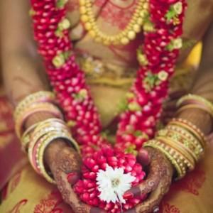 south wedding garlands