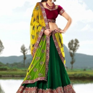 south indian lehengas
