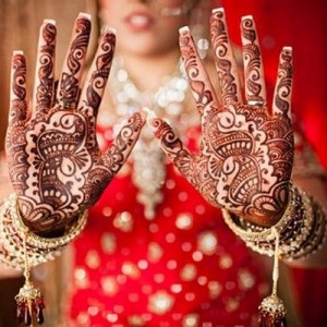 diamond bridal mehandi package