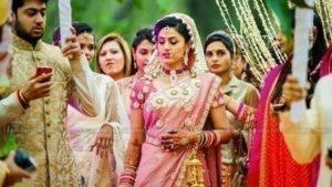 Rose Pink Bridal Saree_7