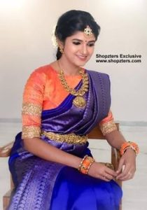Bridal designer silk blouse