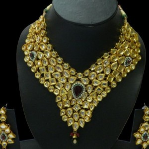 bridal imitation kundan jewellery