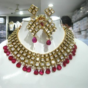 bridal original kundan jewellery