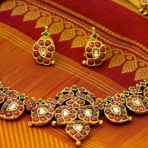 bridal original temple jewellery