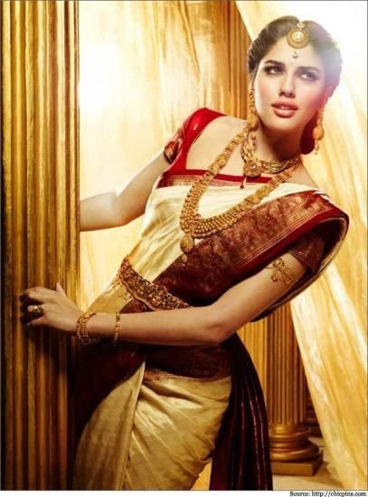Top 7 South Indian Bridal Wedding Sarees For You
