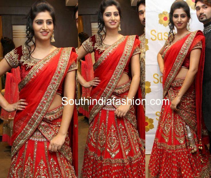 10 Budget South Indian Bridal Lehenga Designs To Customize
