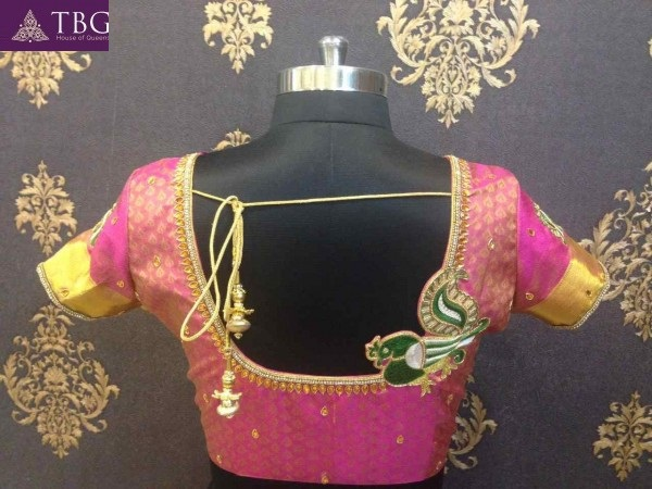 blouse designs for south indian brides 2
