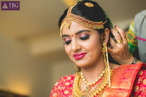 south indian bridal look image