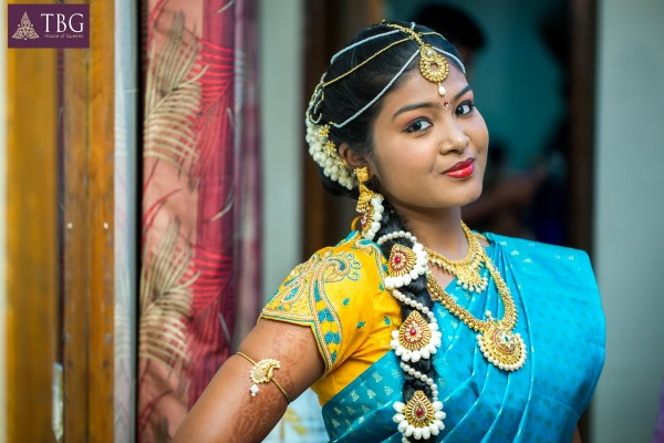 south indian bridal makeup look