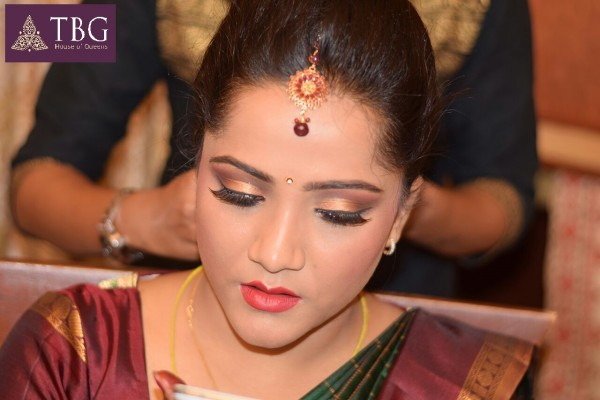 south indian makeup