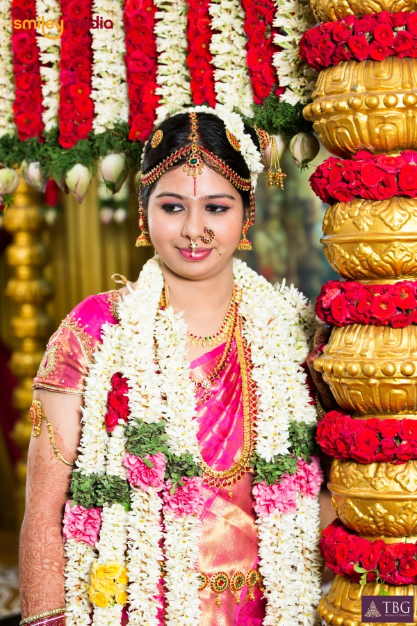 tamil bridal makeup look by tbg