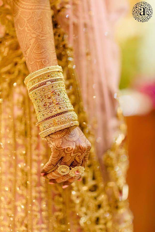 TOP Bridal Beautiful Bangles designs trending these days! - TBG