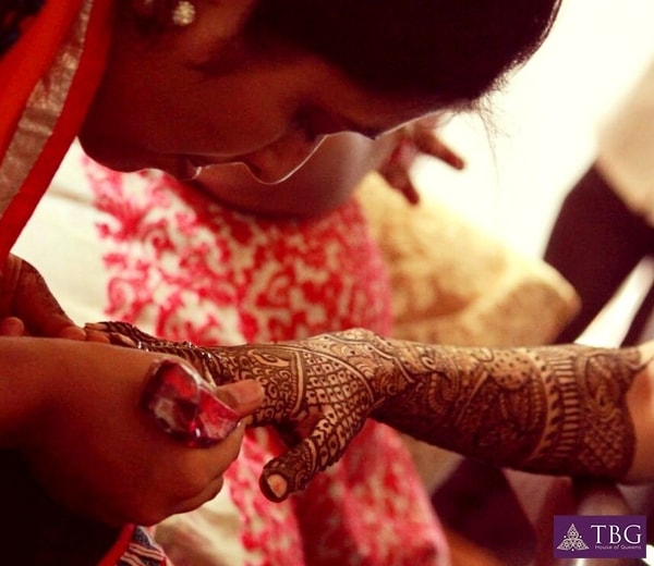 south indian bridal mehendi artist