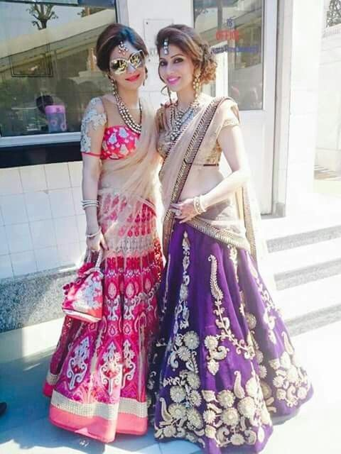 hairstyles with lehenga choli