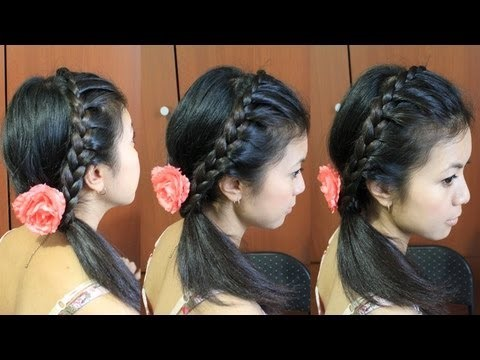 hairstyles with lehenga picture
