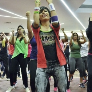 Sucheta Pal zumba instructor