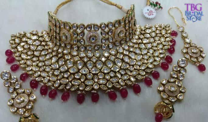 imitation kundan jewellery-1
