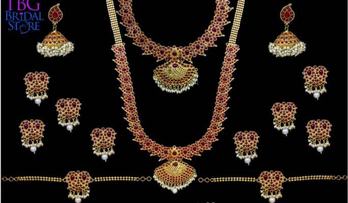 Original Temple Gold Jewellery For Rent Temple Jewellery