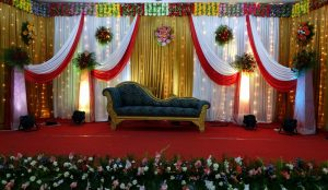 Drapes and Orchid Decoration 3