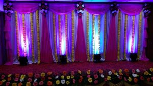 Drapes and Orchid Decoration 5