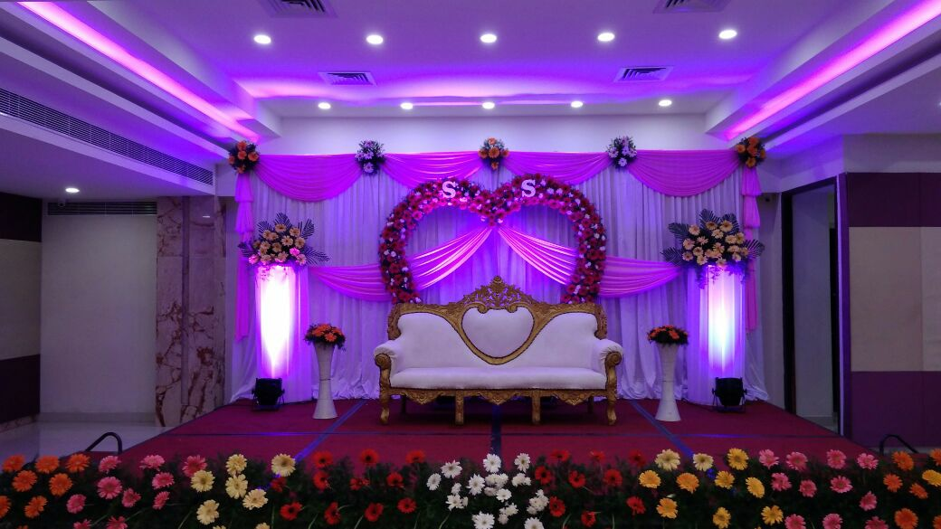 Drapes and Orchid Decoration 6