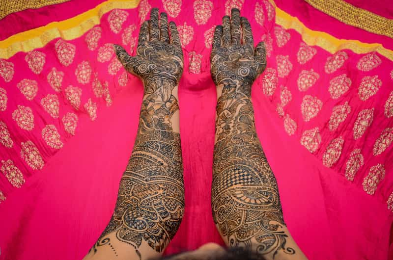 emerald mehendi package
