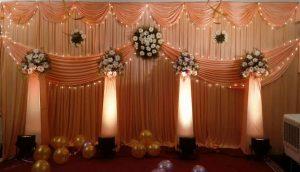 floral lights and pillar decoration_2