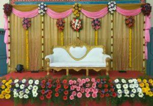 traditional floral mandap decoration 1