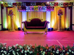 traditional floral mandap decoration 2