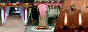 wedding pillar decoration - tbg bridal store