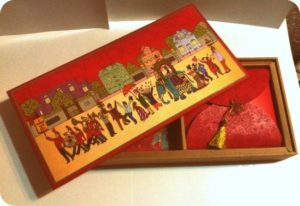 Traditional Box Wedding Invitation