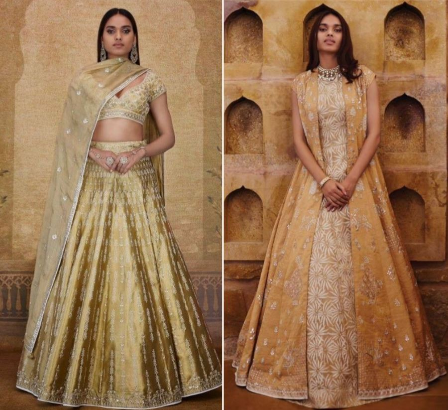 Reuse LEhenga as Long Jacket