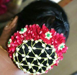 Flower Bun for Engagement