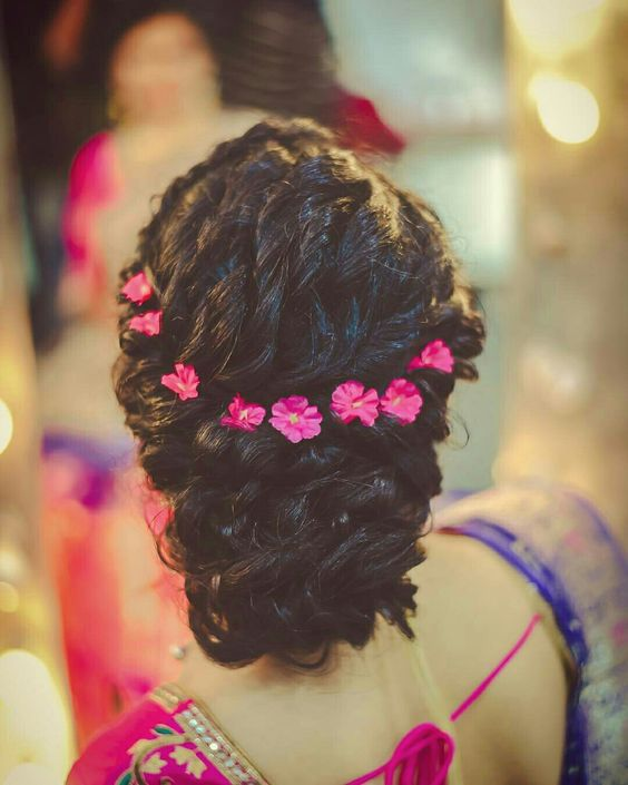 Simple Juda Hairstyle For Wedding: 15 Popular South Indian Bridal Hairstyles For Engagement