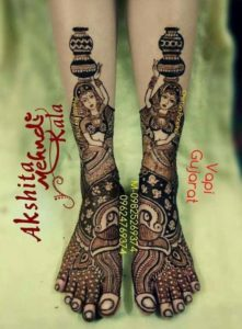 Authenticate Mehendi design