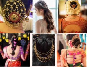 South Indian Bridal Hairstyles for Engagement