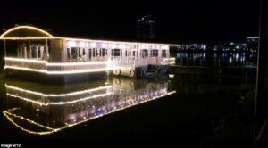 Golden Pearl Floating Restaurant at Lumbini Gardens