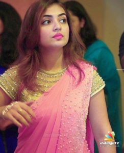 Nazriya in saree
