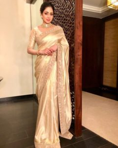 Sri Devi in saree