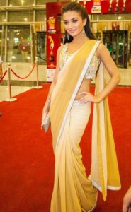 Amy Jackson in saree