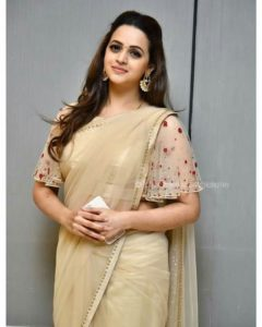 Bhavana in saree