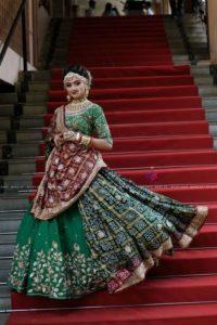 Bridal Lehenga Green Color