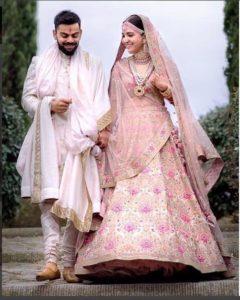 Peach Color Bridal Lehenga