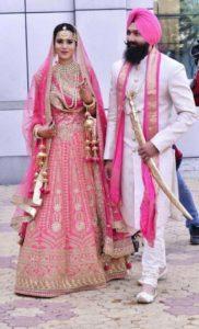 Bridal Lehenga Pink Color