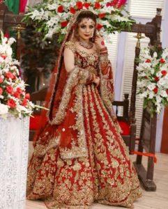 Red Color Bridal Lehenga