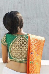cutwork blouse designs for pattu saree