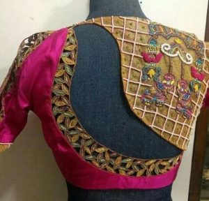 Designer cutwork blouse