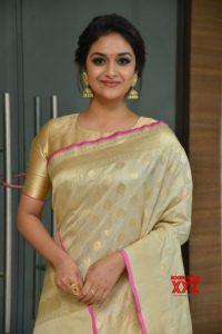 Keerthi suresh in saree
