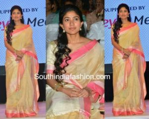 Sai Pallavi in saree