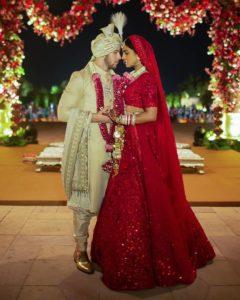 Priyanka Chopra bridal Lehenga